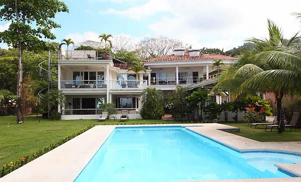 Costa Rica bachelor party mansion rental in Jaco Beach